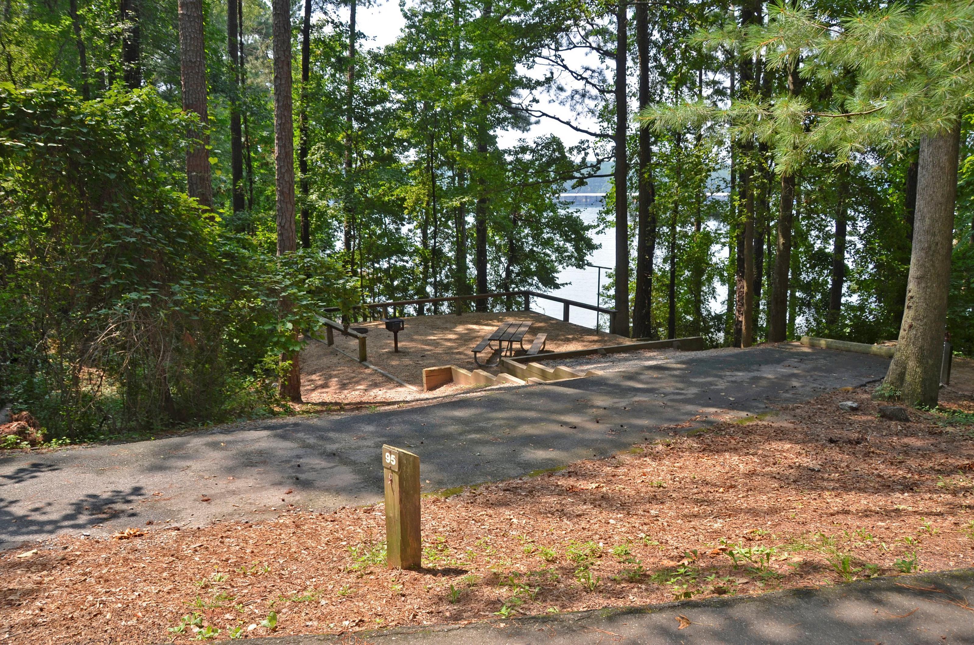 McKinney Campground Site 95