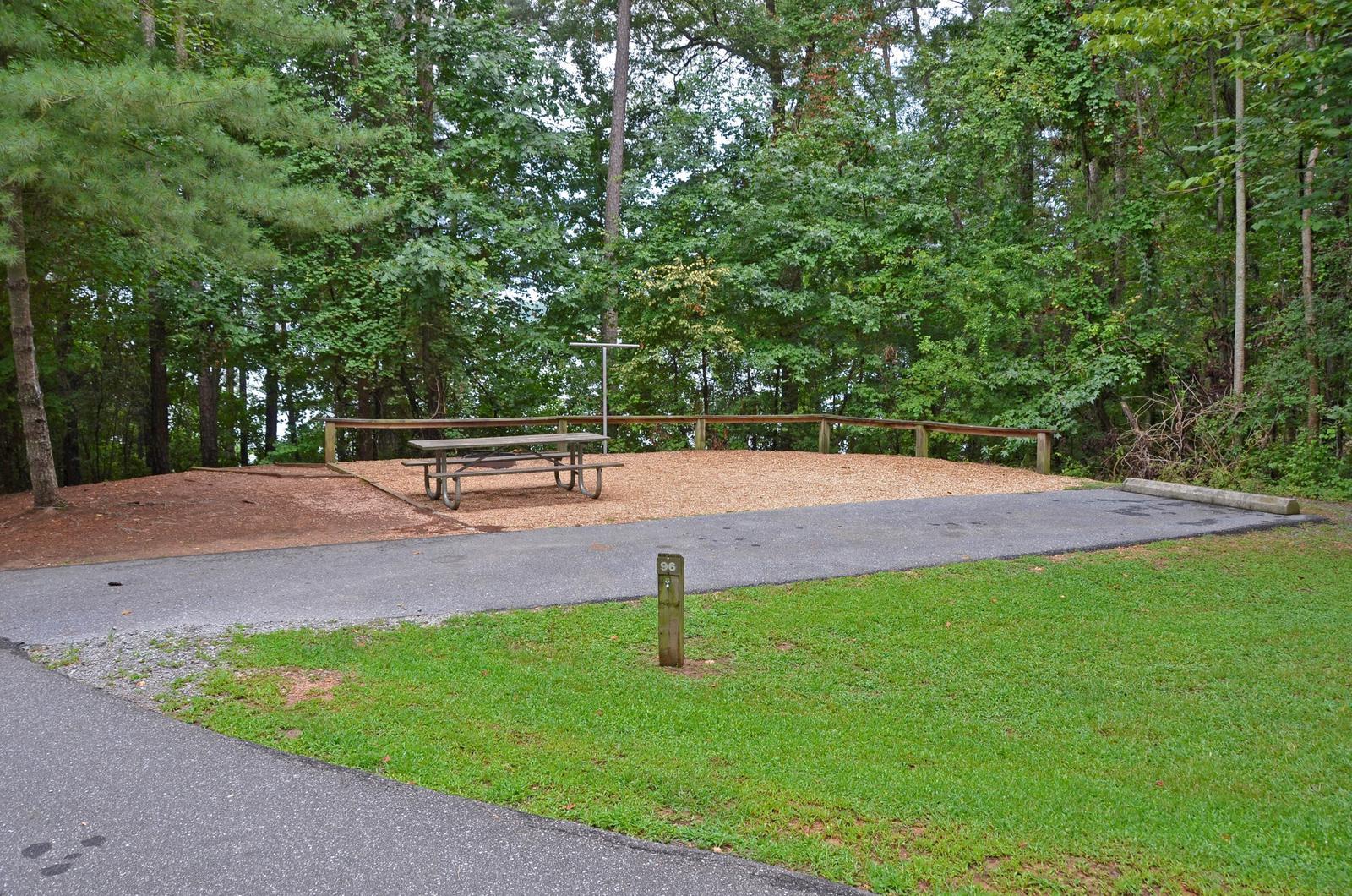 McKinney Campground Site 96