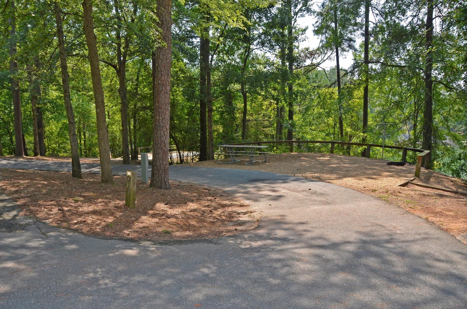 McKinney Campground Site 98