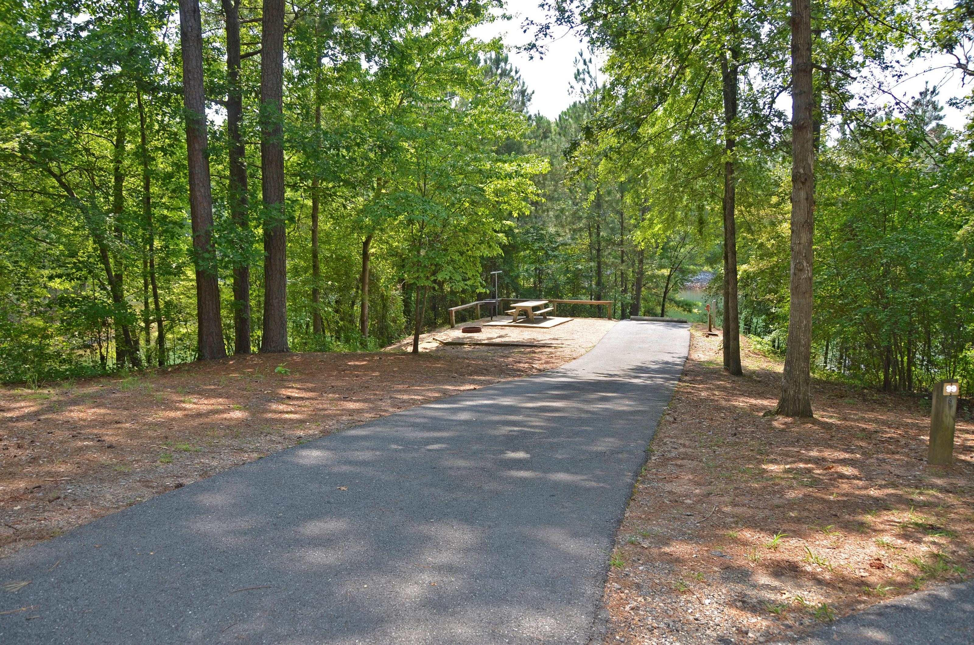 McKinney Campground Site 99