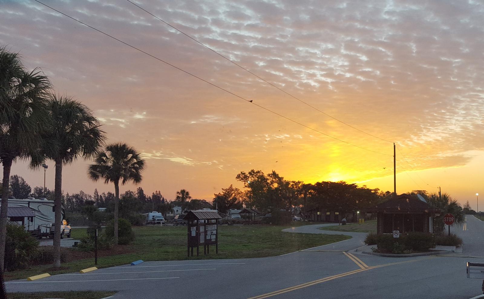 Sunrise at Ortona South