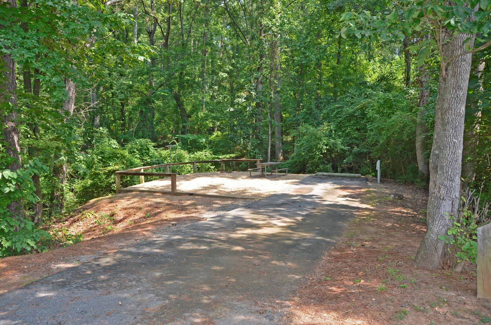 McKinney Campground Site 106