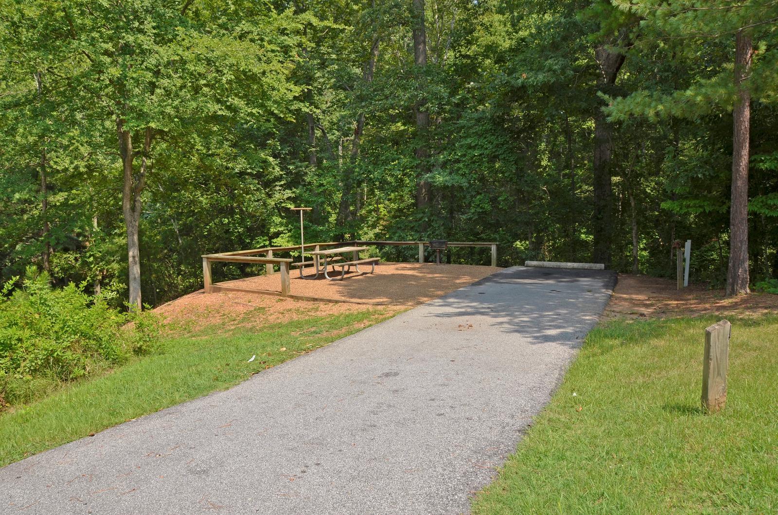 McKinney Campground Site 107