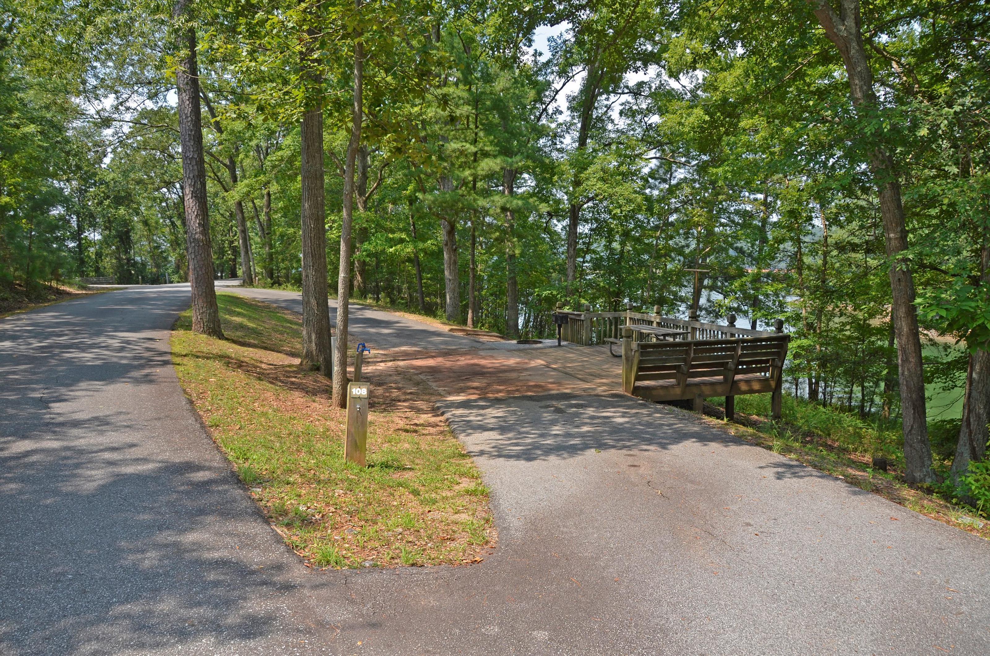 McKinney Campground Site 108