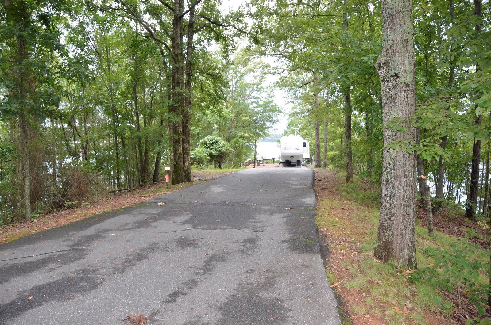 McKinney Campground Site 110