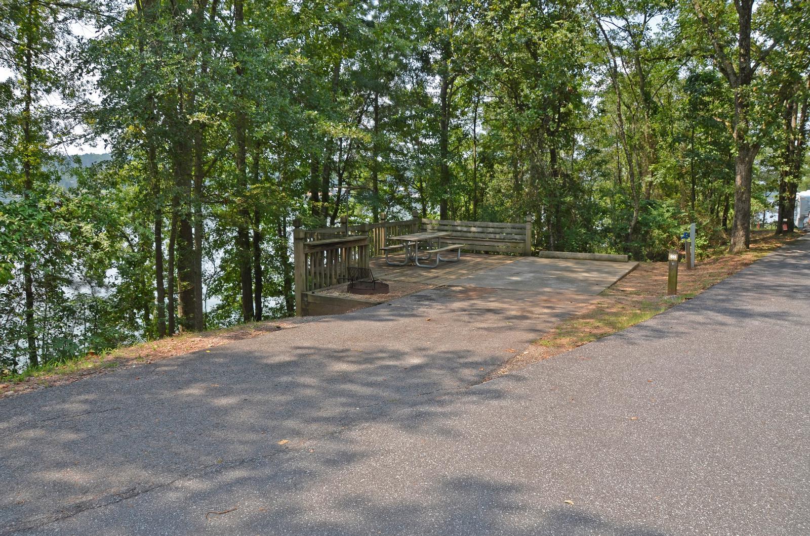 McKinney Campground Site 111