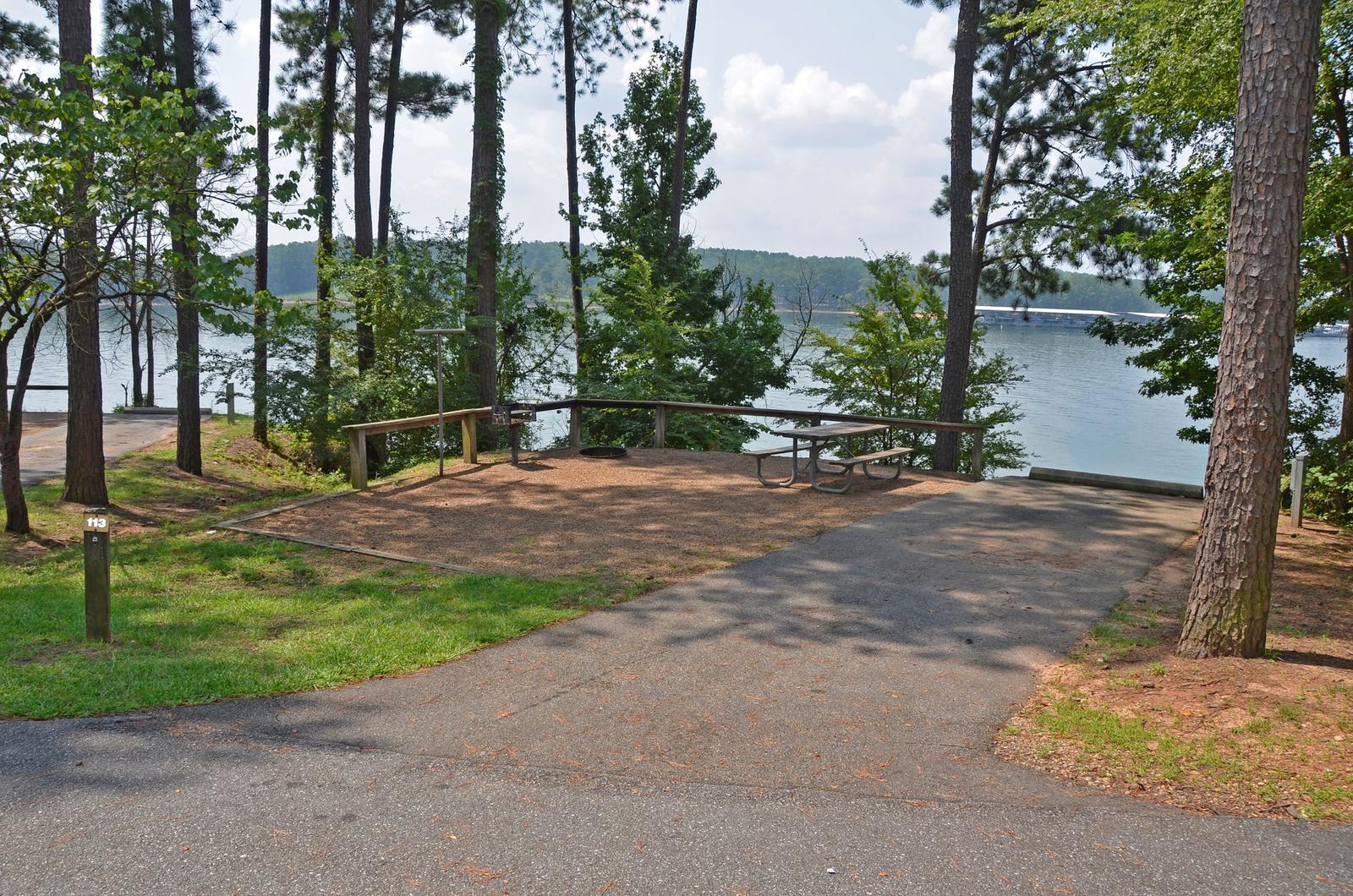 McKinney Campground Site 113