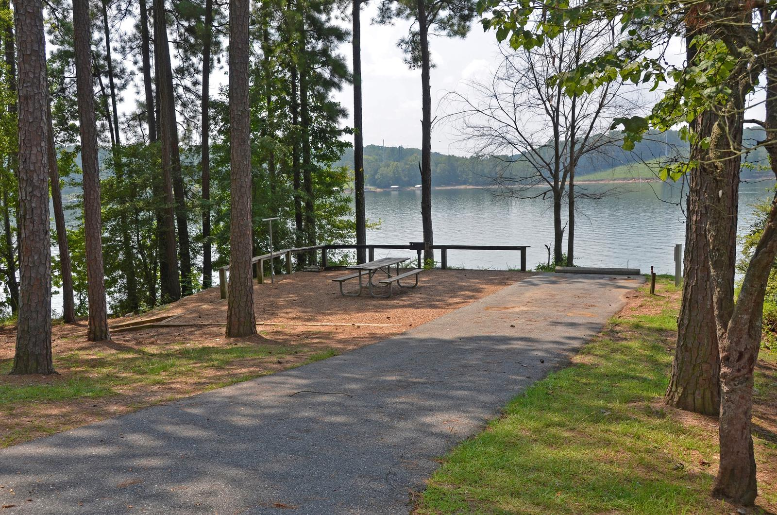 McKinney Campground Site 114