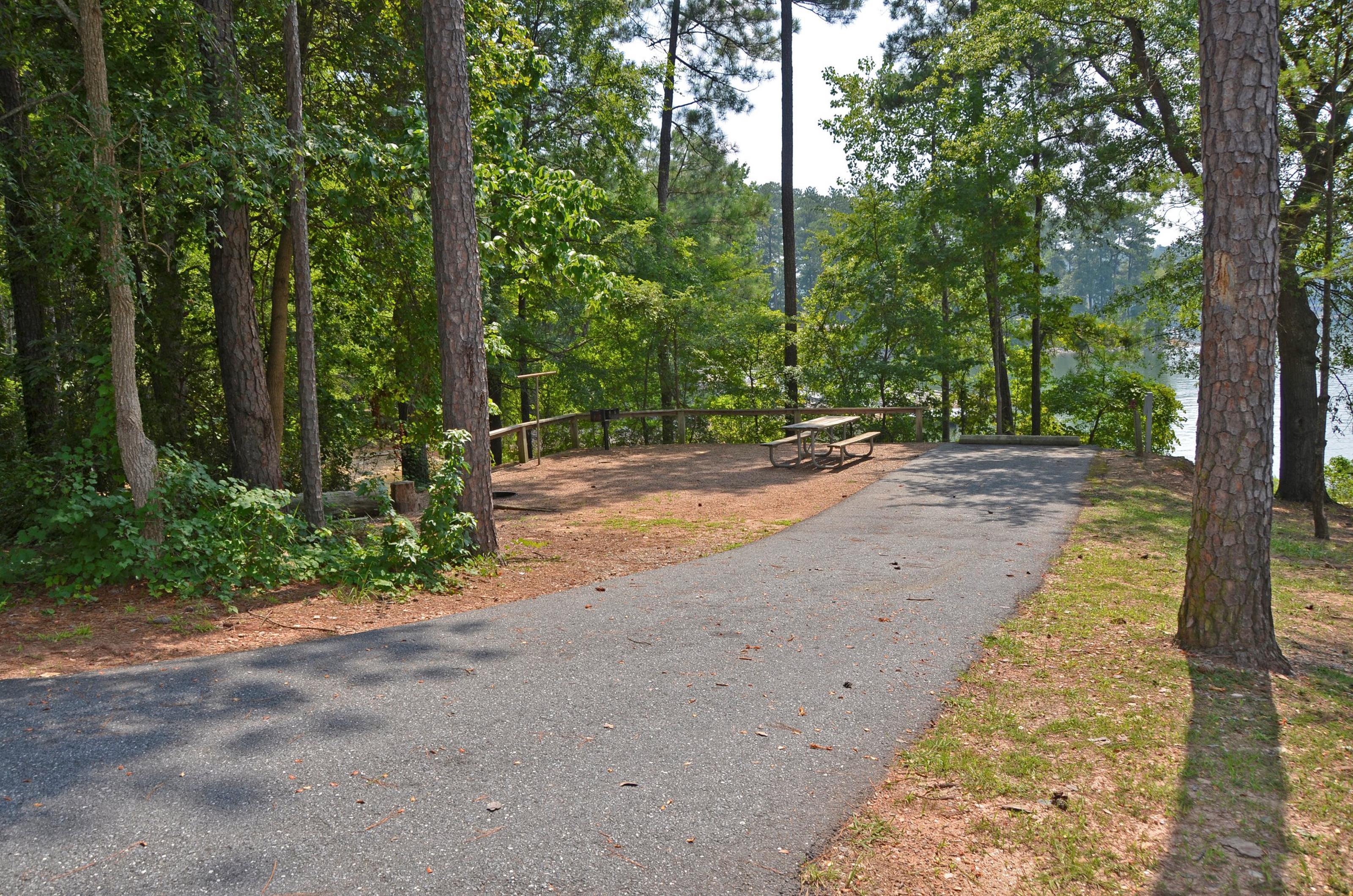 McKinney Campground Site 115