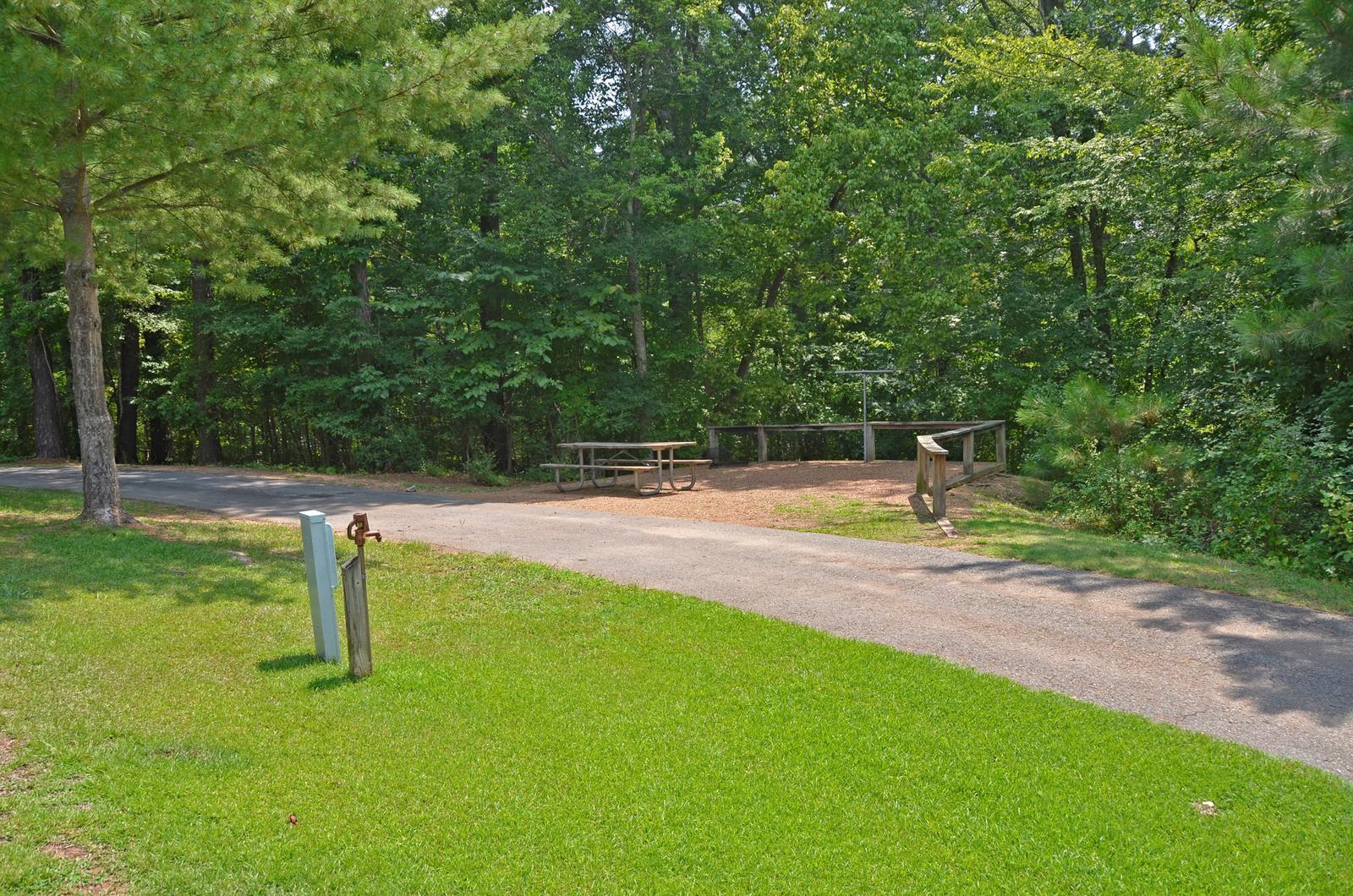 McKinney Campground Site 116