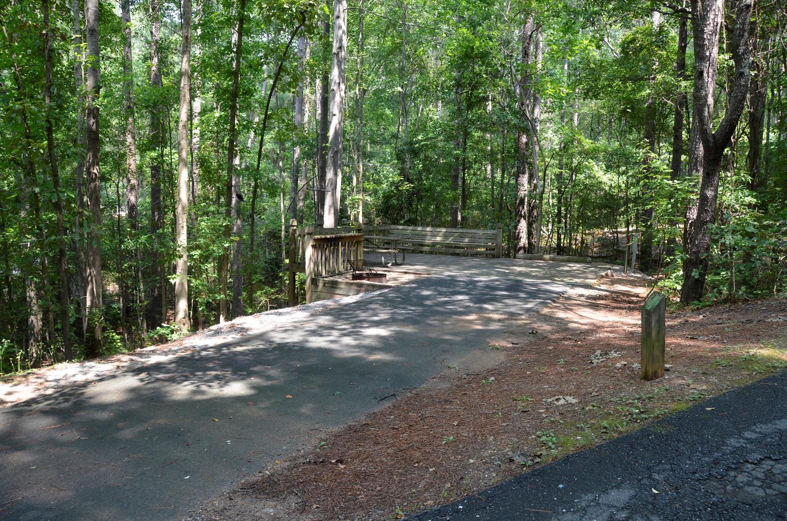 McKinney Campground Site 118