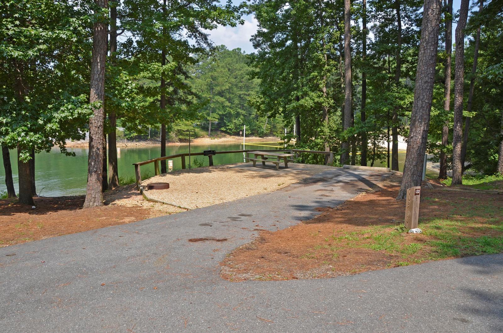 McKinney Campground Site 122