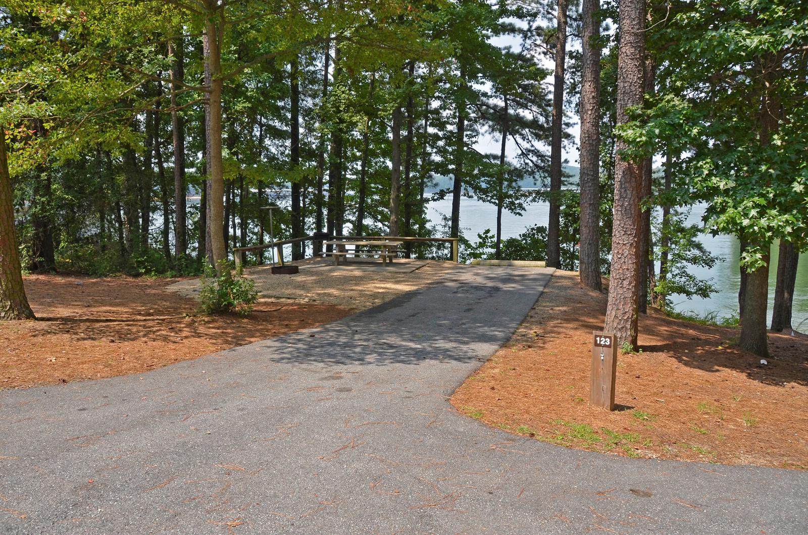 McKinney Campground Site 123