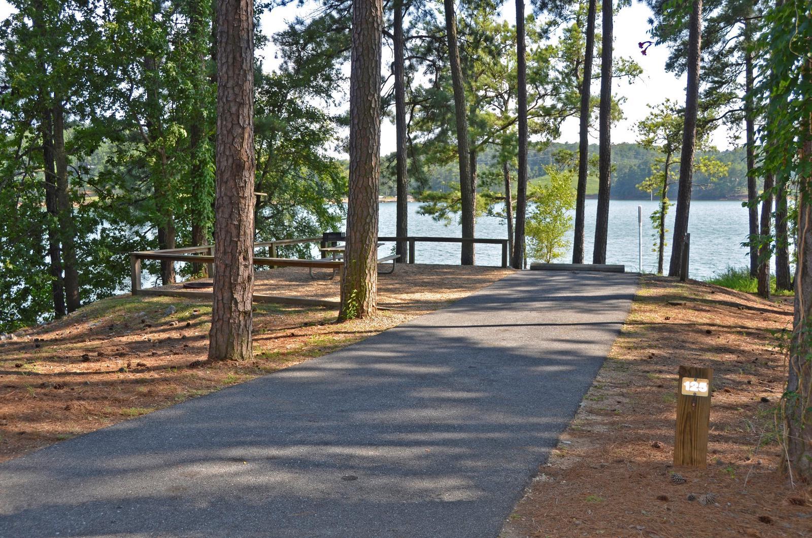 McKinney Campground Site 125