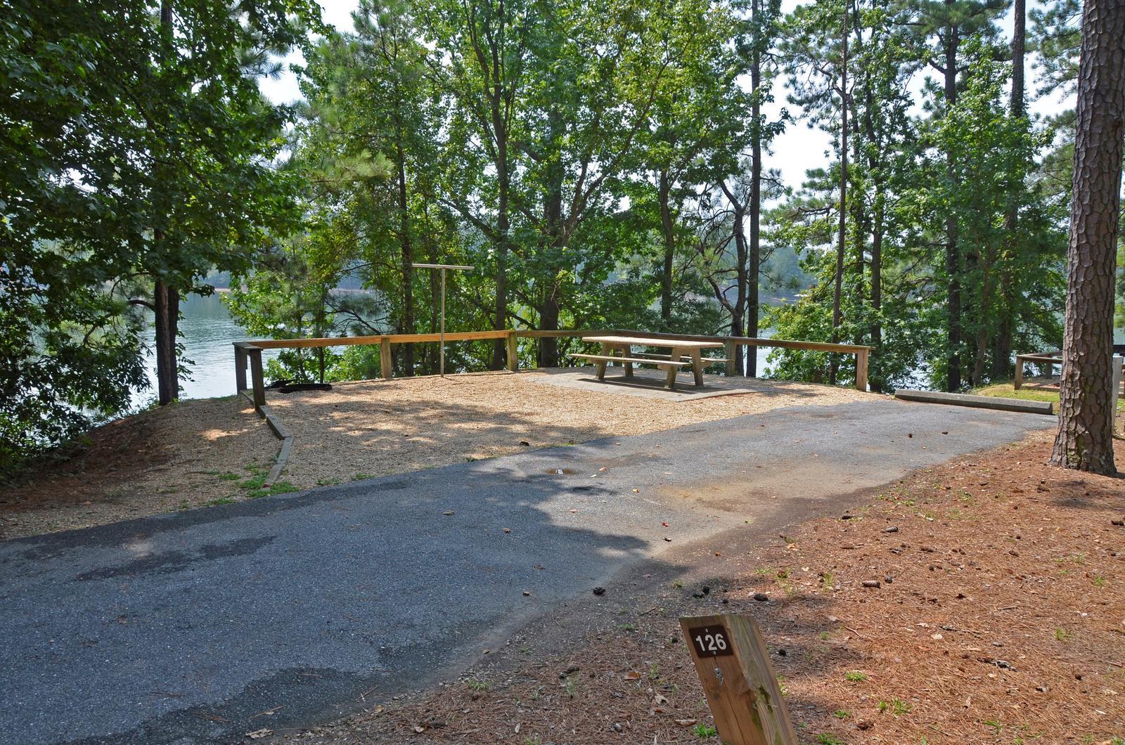McKinney Campground Site 126