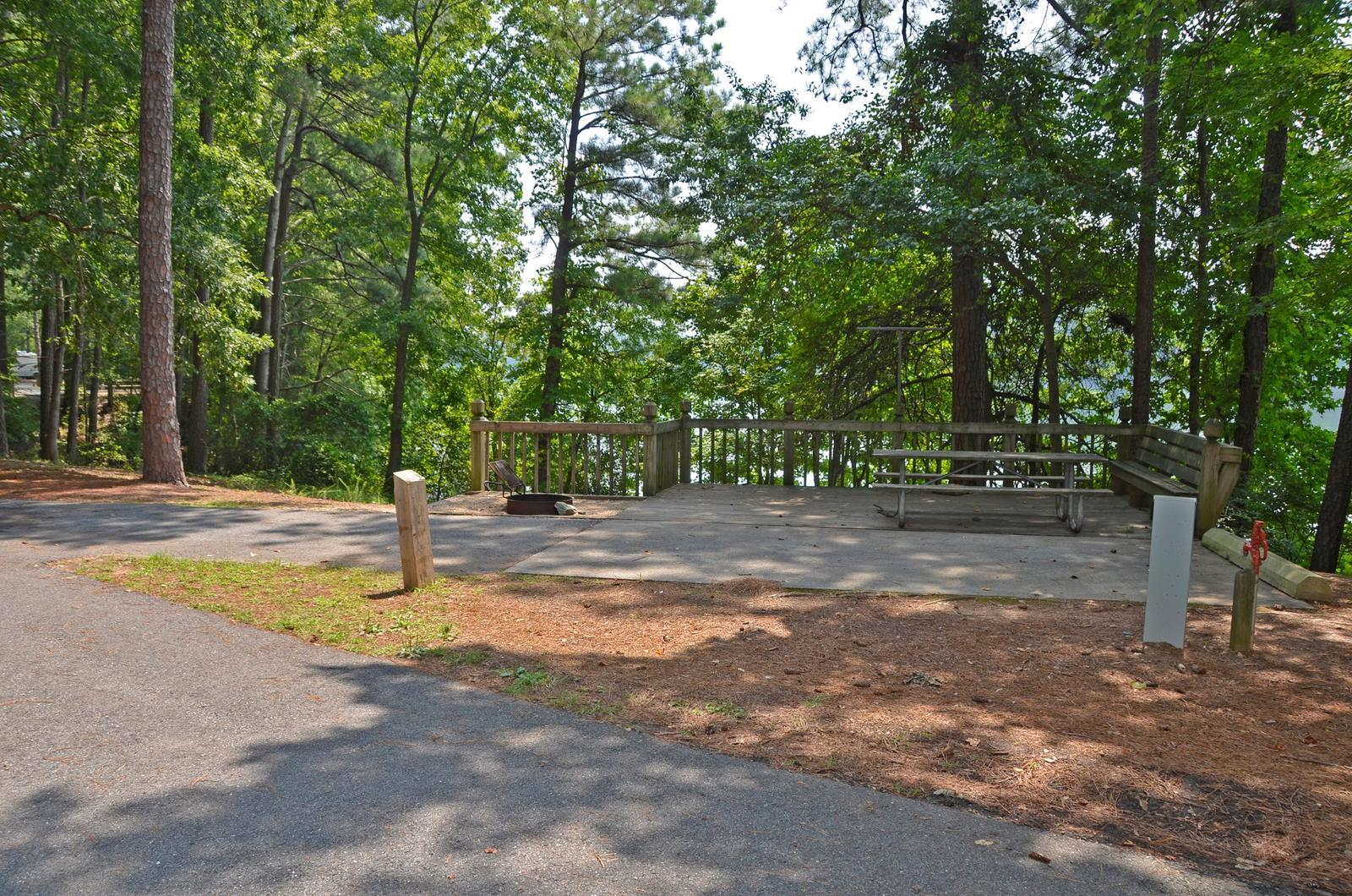 McKinney Campground Site 127