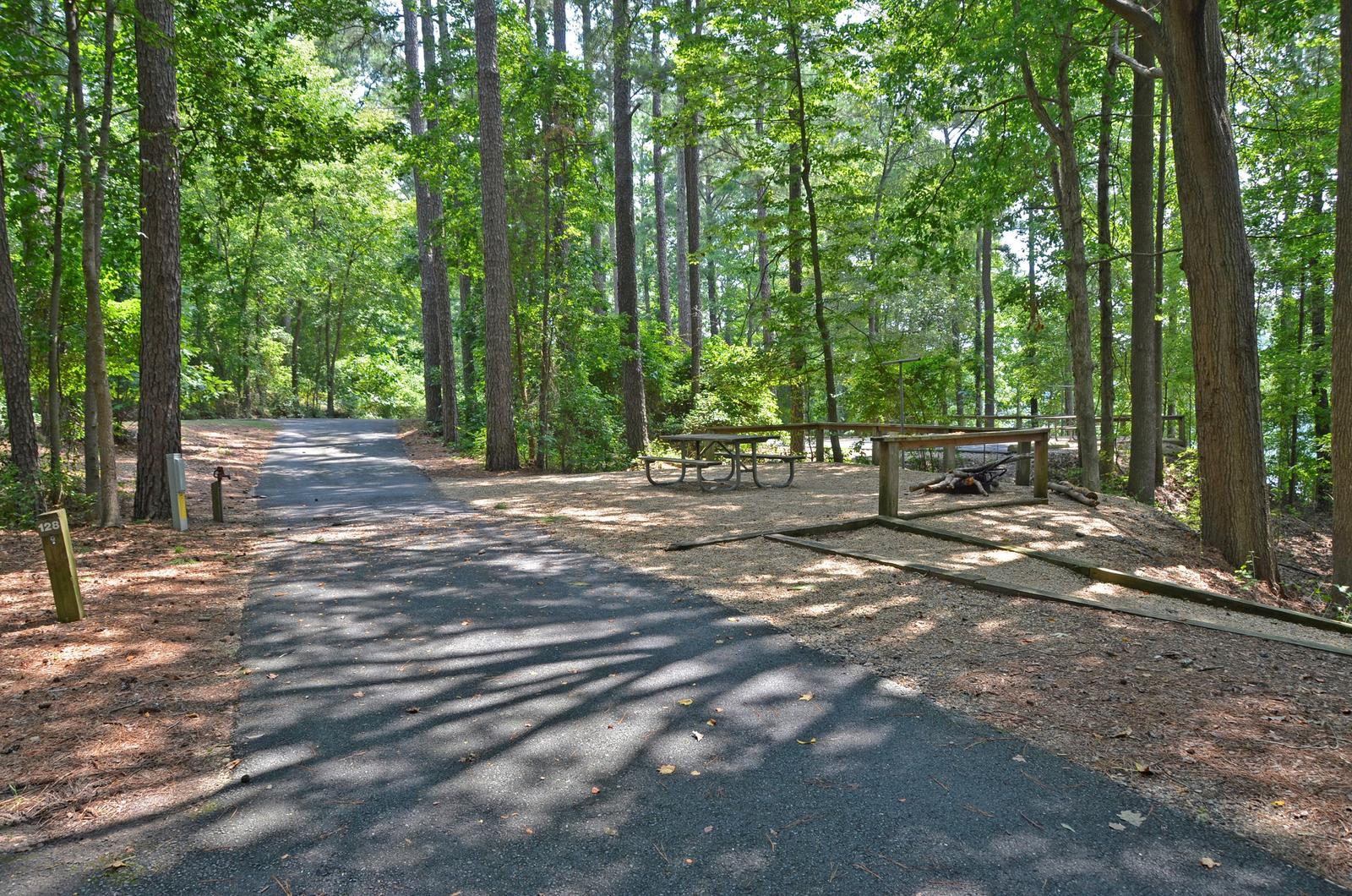 McKinney Campground Site 128