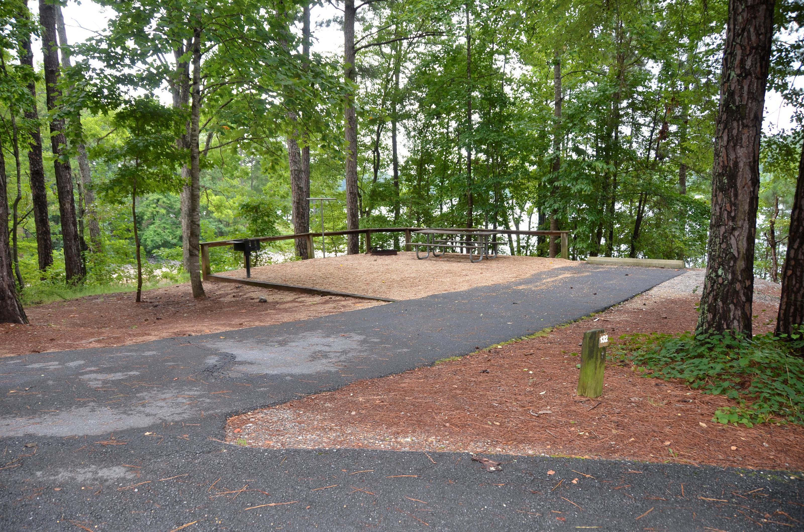 McKinney Campground Site 132