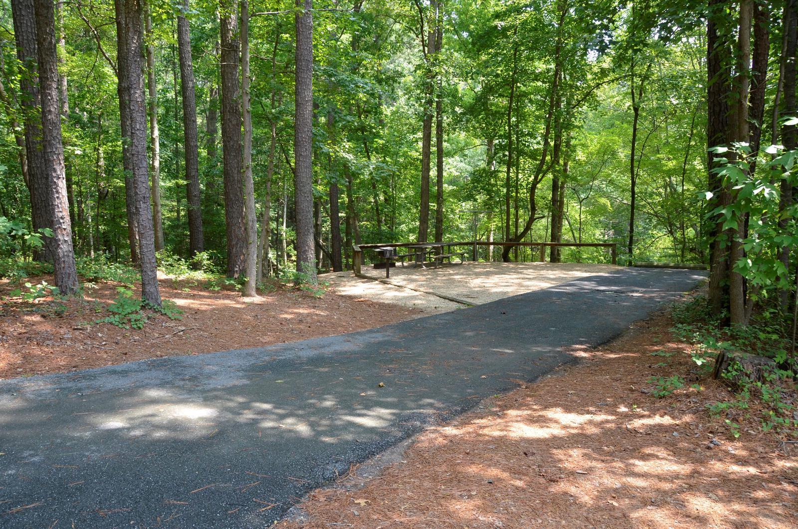 McKinney Campground Site 136
