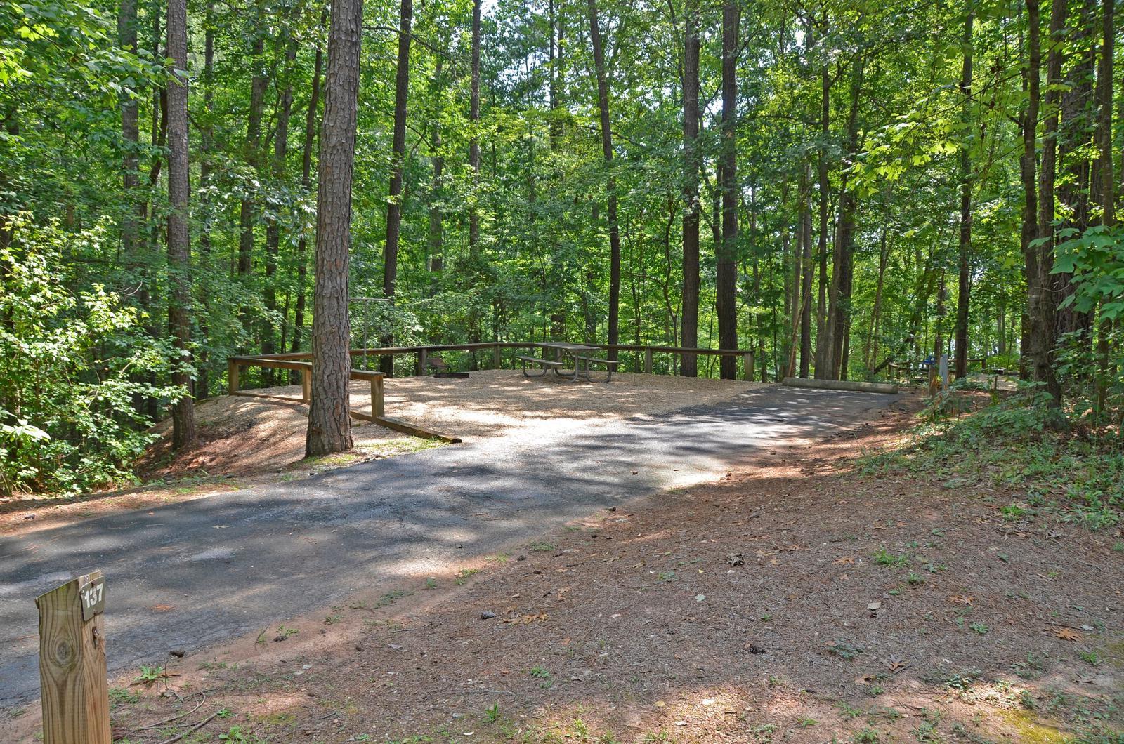 McKinney Campground Site 137