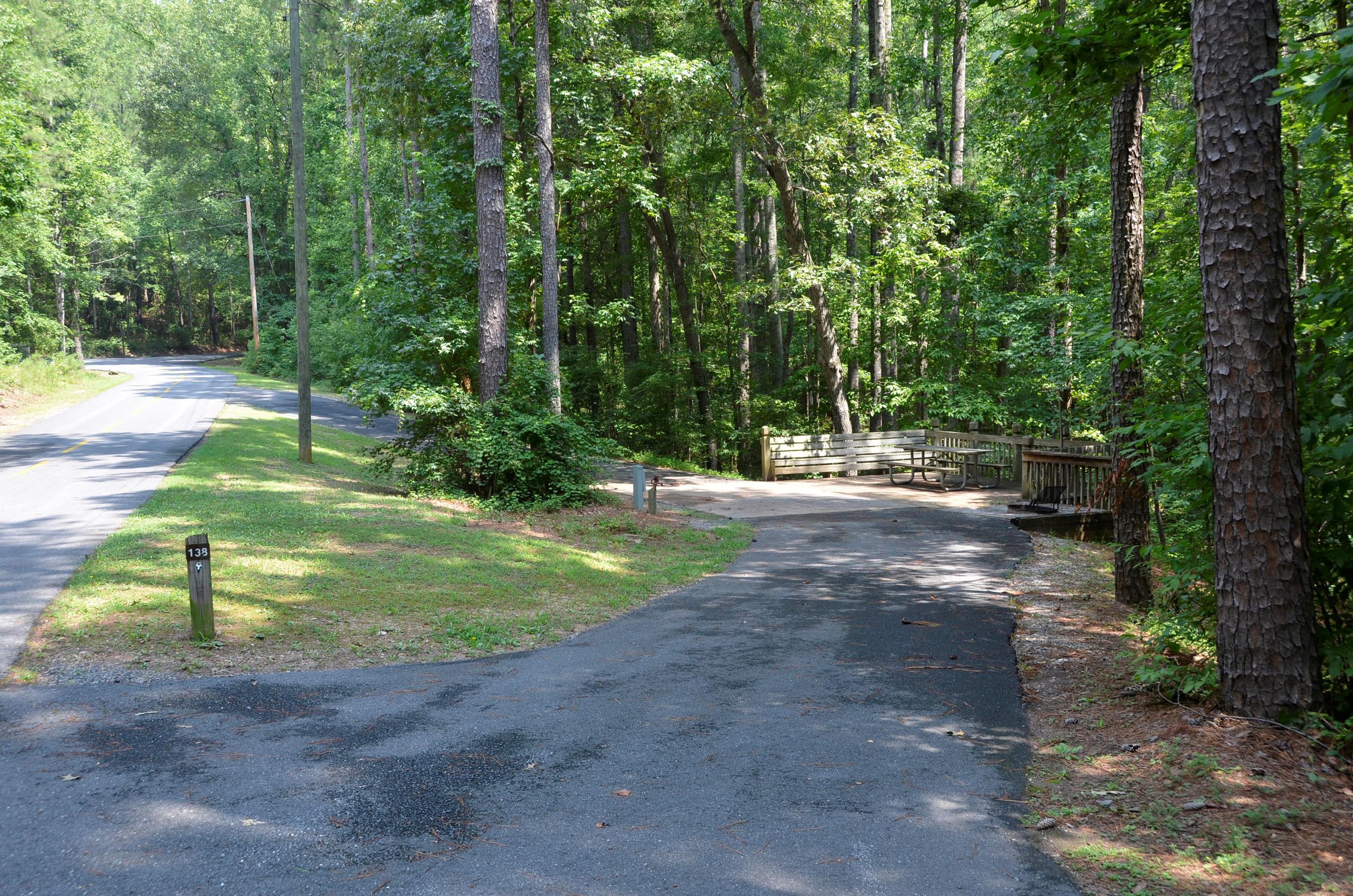 McKinney Campground Site 138