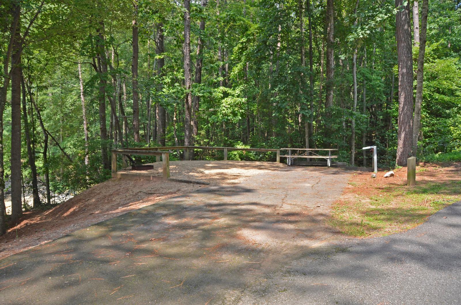 McKinney Campground Site 140