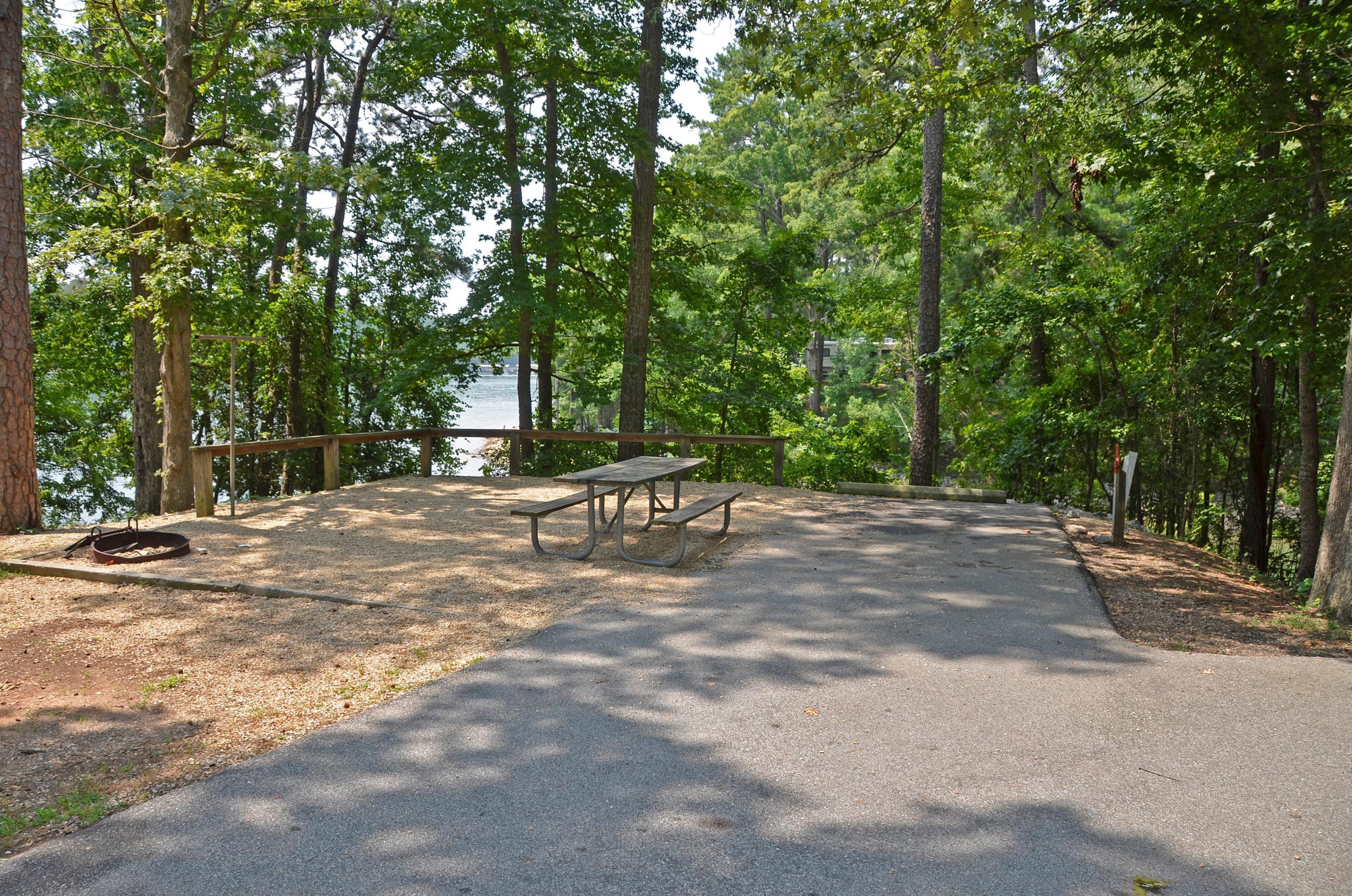 McKinney Campground Site 142