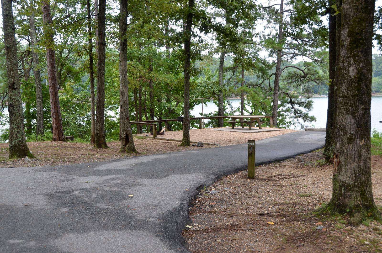 McKinney Campground Site 144