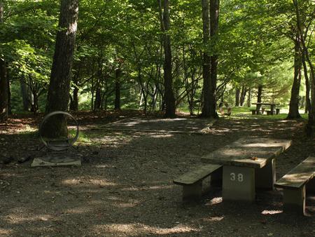 B38 Tent Site Photo