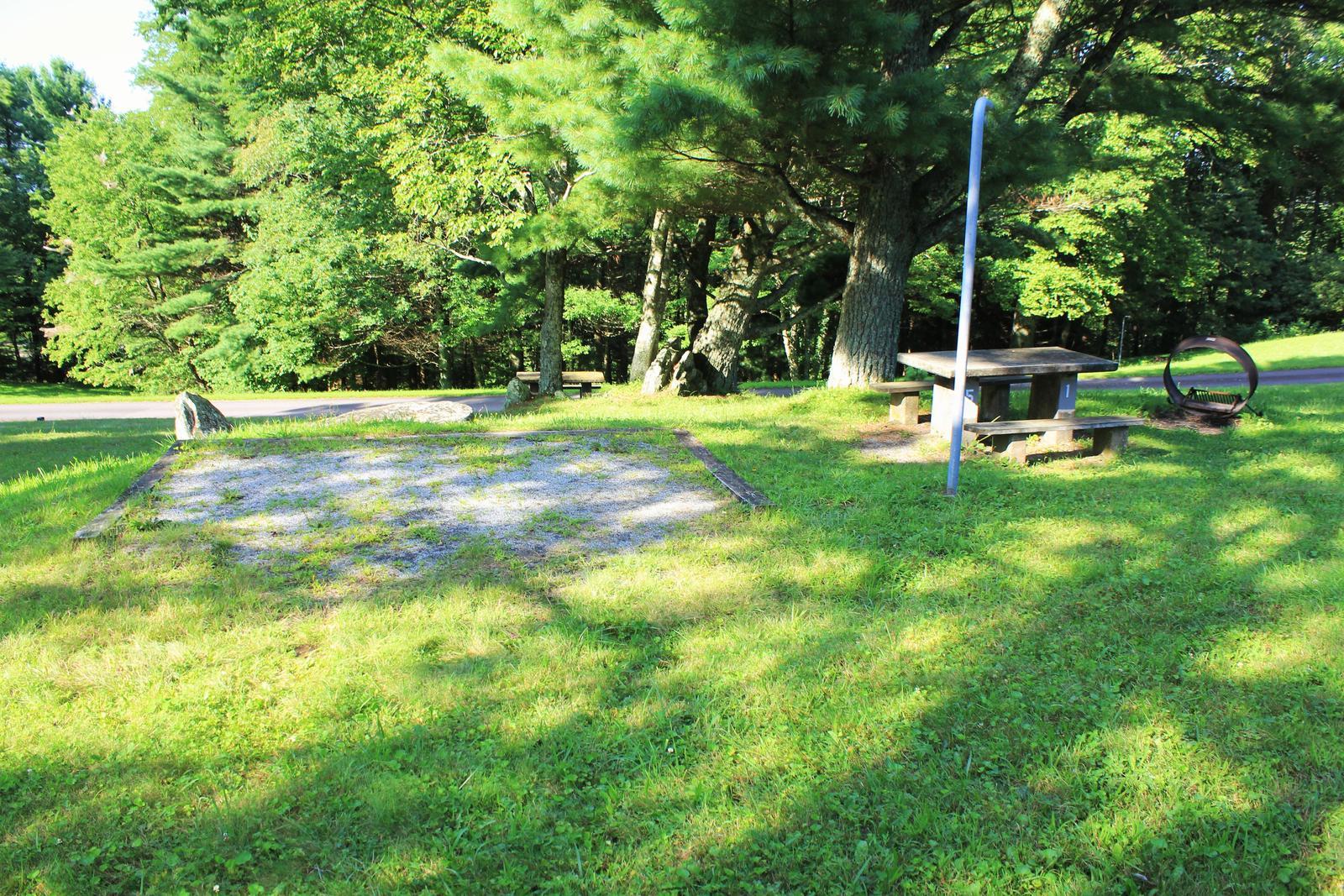 B51 Tent Site Photo