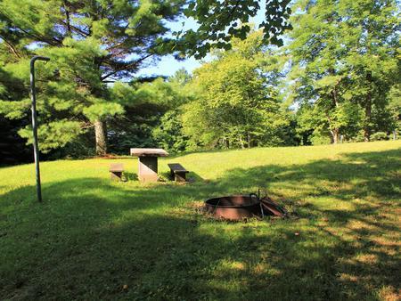 B55 Tent Site Photo