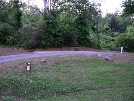 Sweetwater Campground, campsite #54.