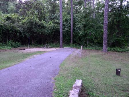 Sweetwater Campground, campsite #55.