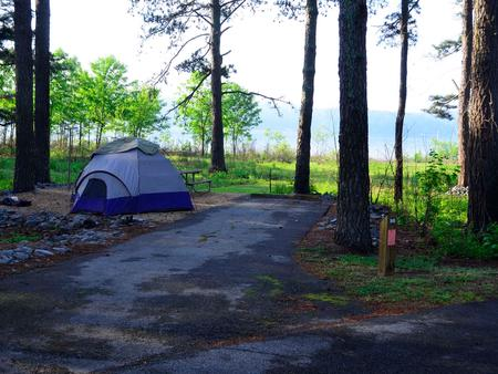 Sweetwater Campground, campsite #56.