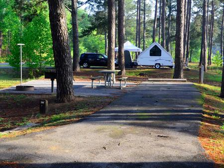 Sweetwater Campground, campsite #59.
