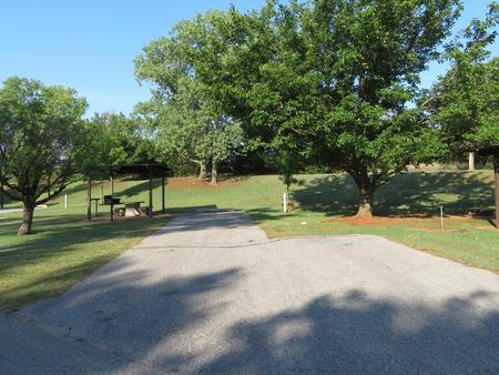 Big Bend B27Big Bend B Campground Site 27
