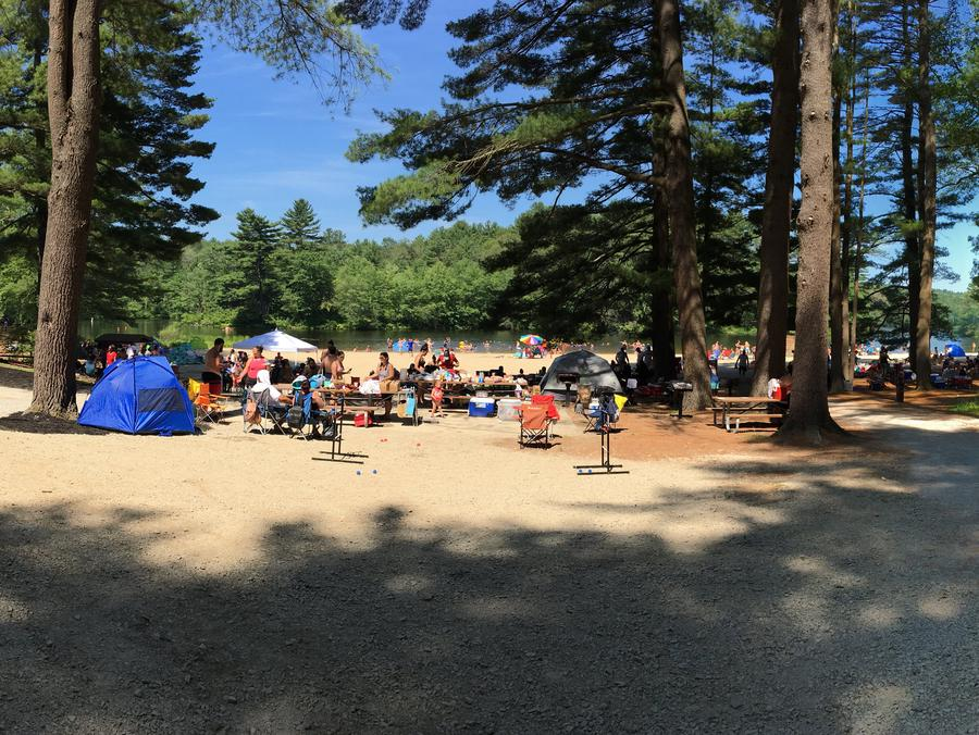 Buffumville Lake ParkBuffumville Park July 4th, 2018