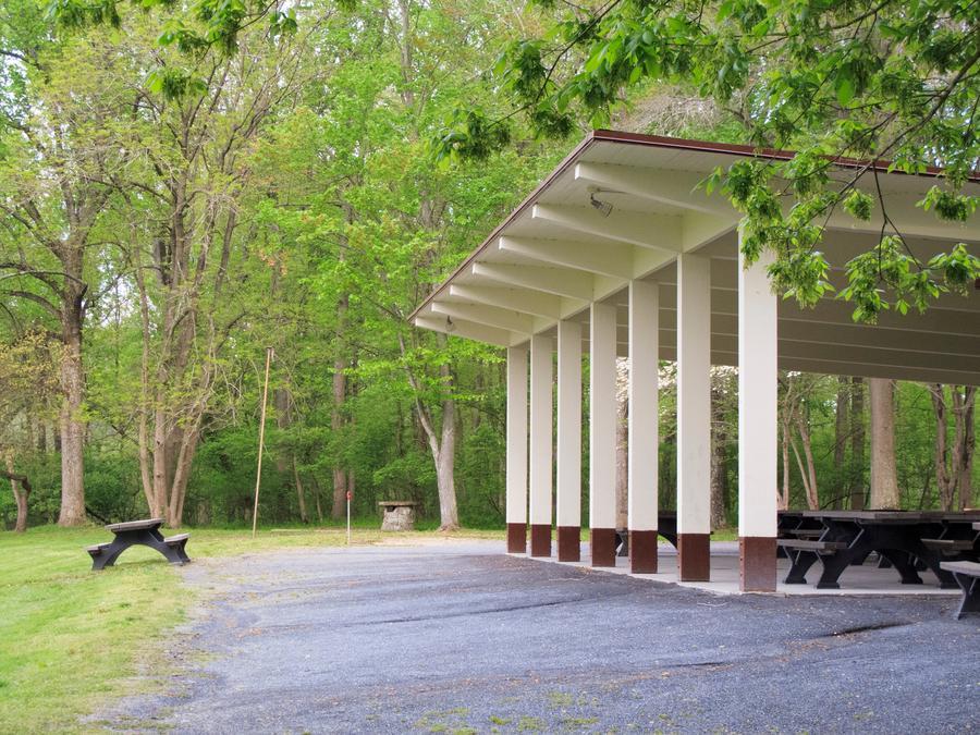 Large Pavilion, Side View