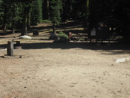 Site 82, no generator loop, partial shade