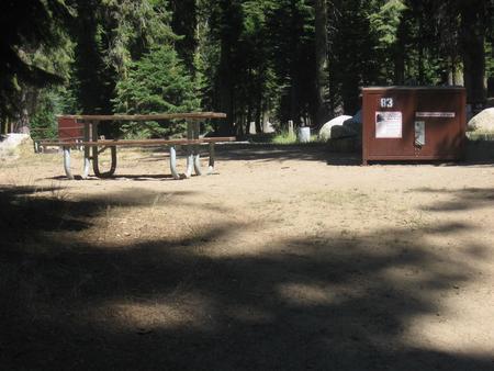 Site 83, no generator loop, partial shade
