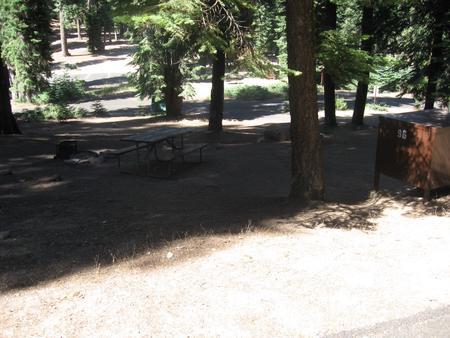 Site 96, no generator loop, partial shade