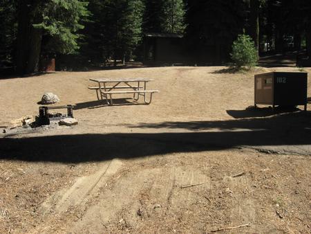 site 102, no generator loop, sunny