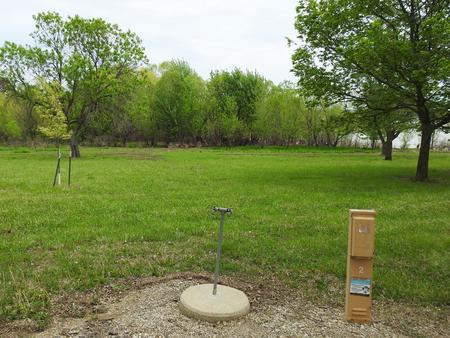 Site 2 in Turkey Point Campground