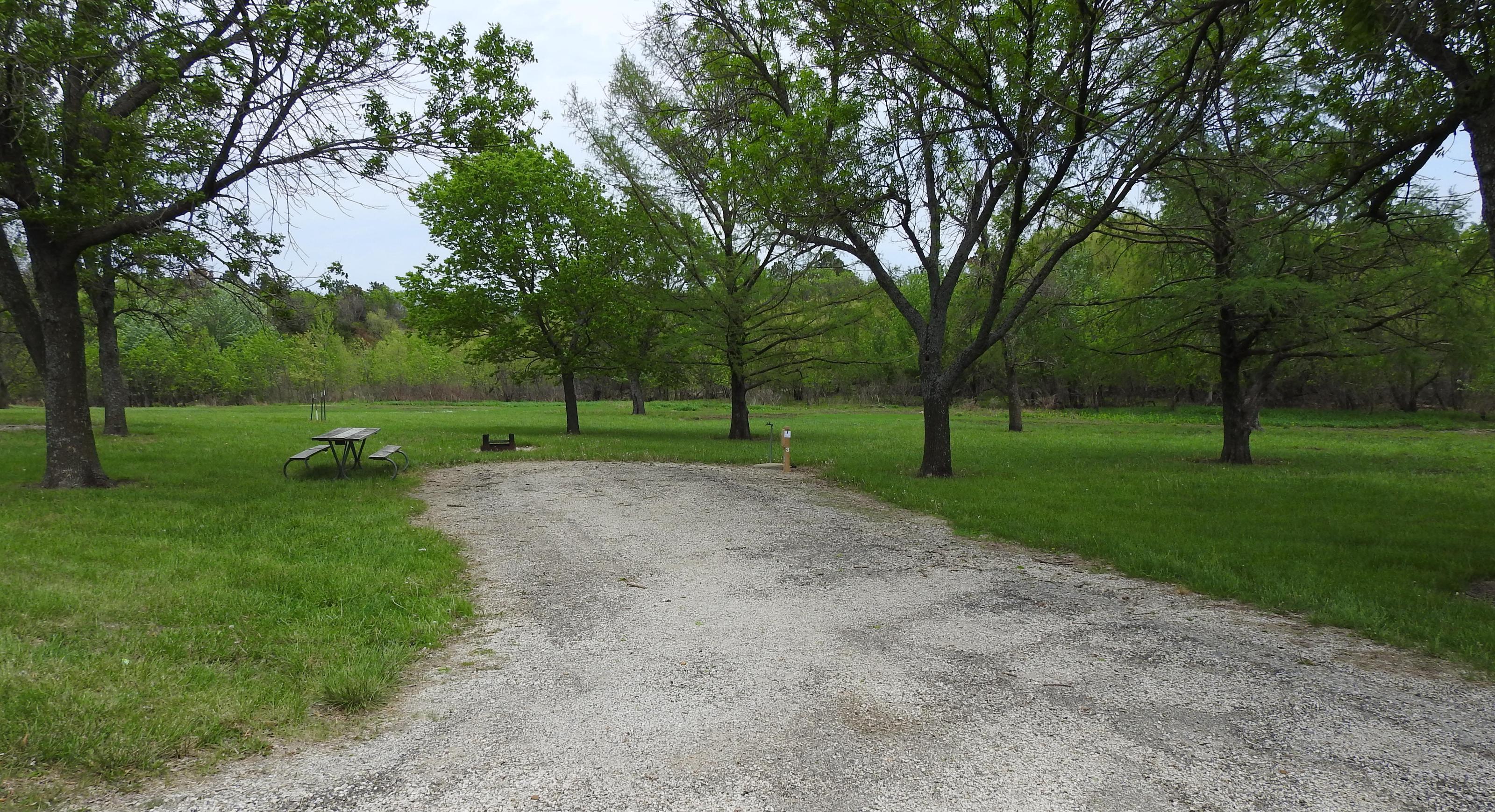 Site 3 in Turkey Point Campground