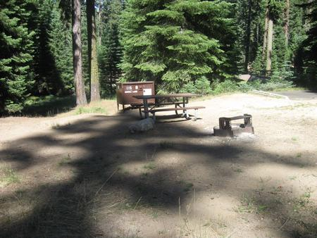 site 115, no generator loop, no tent site, sunny