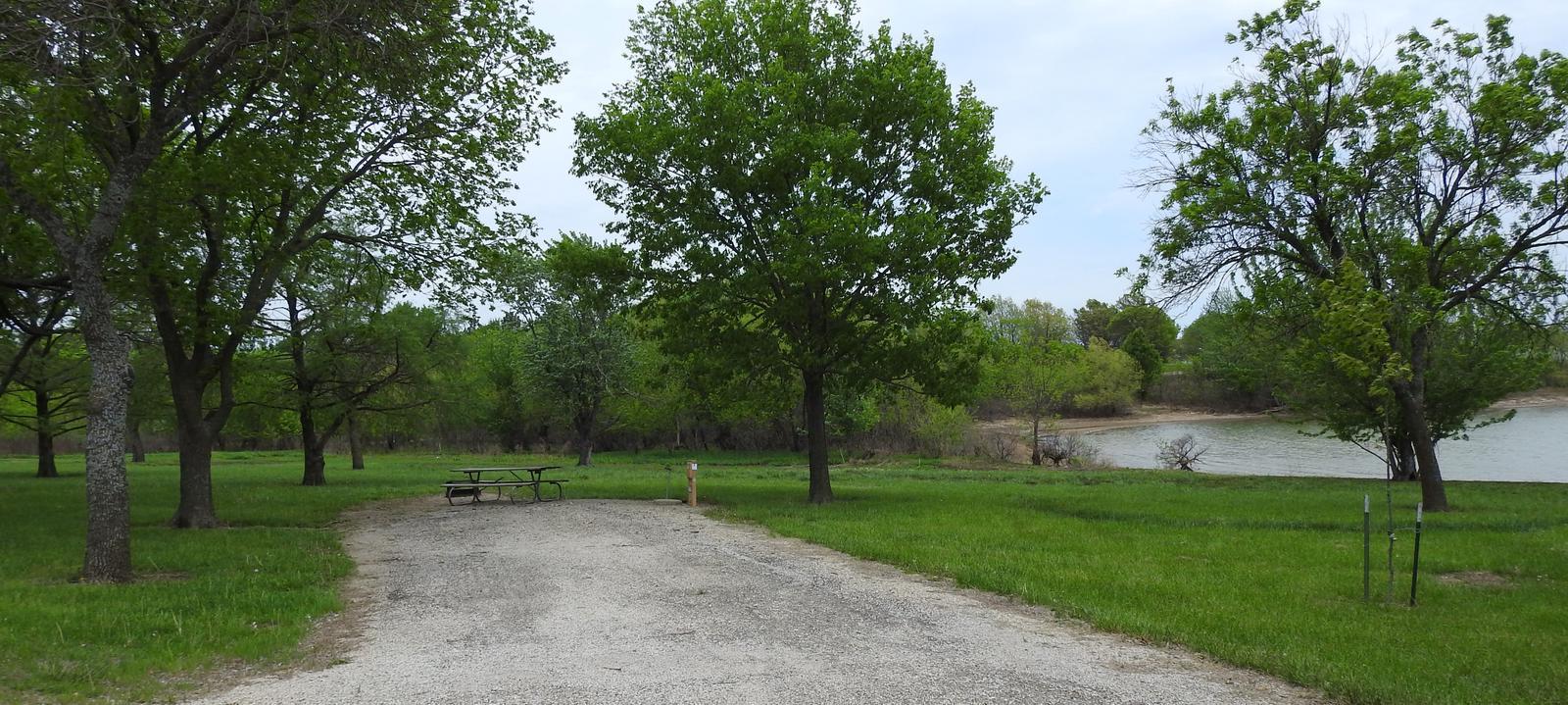 Site 4 in Turkey Point Campground