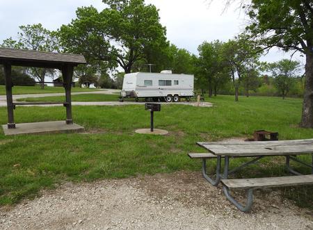 Site 6 in Turkey Point Campground