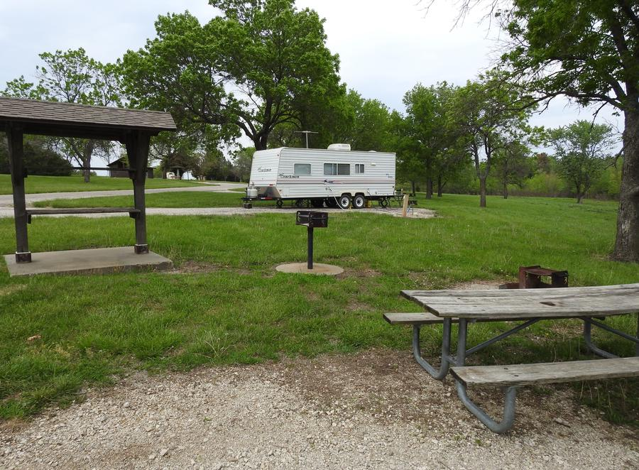 Site 6 in Turkey Point Campground