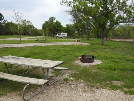 Site 8 in Turkey Point Campground