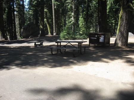 site 131, partial shade, near restrooms